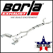 Borla Atak Cat-back Exhaust System Fits 2016-2021 Chevy Camaro Ss Coupe 6.2l Rwd