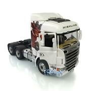 Lesu Axles Scania R730 Metal Chassis Hercules Gripen 1/14 66 Rc Tractor Truck
