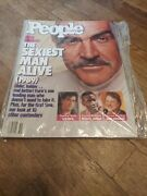People Magazine December 18, 1989 Sean Connery Sexiest Man Alive Brand New