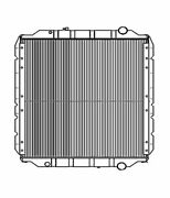 Fits A 2008 2009 2010 Freightliner L-line Heavy Duty Radiator