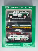 Hess 2019 Mini Collection - Toy Truck And Race Car Box Trailer Emergency Truck