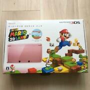 Only Japanese Super Mario 3d Land Console Pink