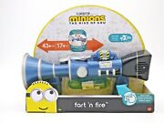 Fart 'n Fire Blaster Toy Gun Despicable Me Minions The Rise Of Gru New 2020