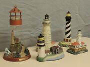 The Light Of Peace By Thomas Kinkade Plus Four Us Lighthouse Collection