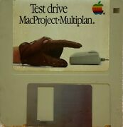 Test Drive Macproject • Multiplan - 690-5035 - Macintosh Collector's Guide Apple