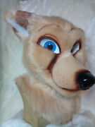Shy Fox Fursuit Head - Moving Jaw - Following Eyes - One Of A Kind -