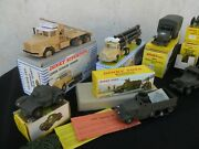 Dinky Toys Military Bundle 14 Models With Boxes Original Condition Outstanding