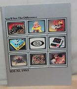 Vtg 1983 Ideal Toy Catalog Lone Ranger Knight Rider Screamers Cars Playsets