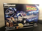 Playmobil 70317 Back To The Future© Delorean Toy Free U.k. Shipping