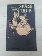 Marx Atomic Cape Canaveral Play Set Space Talk Astronautical Terms Book Vintage