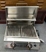 Solaire Allabout Double Burner Infrared Portable Grill W/warming Rack, Propane