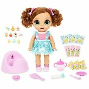 Baby Born Surprise Magic Potty Surprise Green Eyes Doll Pees Glitter And Poops