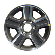 17and039and039 Machined And Charcoal Alloy Wheel Take-off 2004-2008 Ford Lightduty 3554