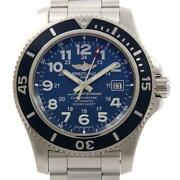 Authentic Breitling A17392 A192c10pss Super Ocean 2 44 Automatic 260-003-62...