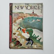 Vintage The New Yorker Magazine - August 28, 1937 Issue - Antique