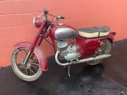 1950s/60's Vintage Collectible Jawa Motorcycle Only 8 Kilometers Rare