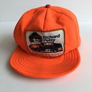 Vintage Richard Petty Nascar Hat Snapback Made In Usa King Of The Road 43 Stp