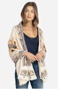 Johnny Was Amika Cashmere And Wool-blend Wrap Women's White O/s 428🌺