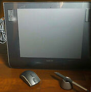 Wacom Intuos3 Lage Ptz-930 Tablet. Pen Mouse For Artists Photographer Cd Adobe