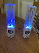 Dancing Water Led Speakers Light Show Water Fountain Multicolored