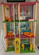 1973 Barbie Townhouse With Furniture - For Parts