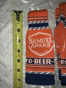 Sam Adams Octoberfest Knitted Bottle Coozie Pack Of 10 Brand New Rare