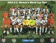 U.s. Womenand039s National Soccer Team Autographed Photo