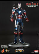 Hot Toys 1/6 Iron Man 3 Iron Patriot Die Cast New Never Taken Out Nor Displayed.