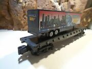American Flyer New Haven Fat Car No Nh 24566 With Trailer Load    5-66-5