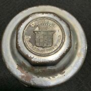 Damaged Cadillac Standard Of The World Wheel Center Rim Grease Cup Cap Hub Cover