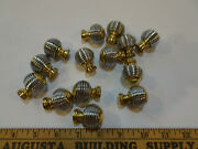 Lot Of 14 Wire Wrap Look 1 1/8 In Round Cabinet Or Drawer Knobs