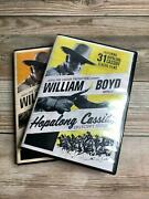 Hopalong Cassidy Ultimate Collector's Edition Dvd Box Set 66 Westerns