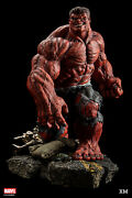 Xm Studios Marvel Red Hulk 1/4 Scale Figure Us Seller Brand New Ships From Us
