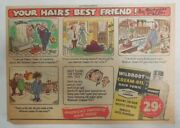 Wildroot Cream-oil Hair Tonic Ad Your Hair's Best Friend From 1940's-50's