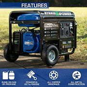 Duromax Xp12000eh Generator-12000 Watt Gas Or Propane Powered Home Back Up And ...