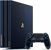 Playstation 4 Pro 500 Million Limited Edition [discontinued] Sony Cuh7100ba50