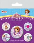Sofia The First - Pink Amulet Badge Pack 6x4in 102875