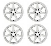 Work Emotion T7r 18x10.5 +22 +12 5x114.3 Wht From Japan [order Products]