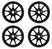 Work Emotion D9r 18x10.5 +23 +15 5x114.3 Blk From Japan [order Products]