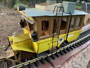 Scratch Built German Streetcar G Scale - Whimsical