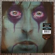 Alice Cooper – From The Inside Rcv1 3263 Green/black Swirl Sealed Lp Limited