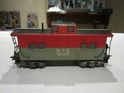 Vintage Marx Trains 20102 Nyc New York Central Tin-lithographed Caboose 4 Wheel