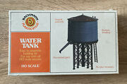 Ho Scale Bachmann Plasticville Water Tank, 45153, New And Sealed