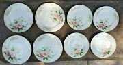 Vintage Grace China Rochelle Patt Made In Occupied Japan 1945-51 Set 8 Plate