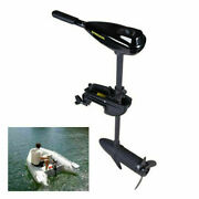 12v Electric Trolling Motor Engine Inflatable Fishing Boat Outboard Drive 10km/h