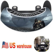 Motorcycle Mirrors 180° Wide Angle Windshield Safety Rearview Blind Spot Mirror