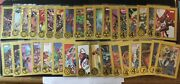 2013 Marvels Greatest Battles Gold /75 Lot Of 34 No Dupes Spider-man Ironman Nm
