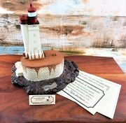 Harbour Lights Lighthouse 115 St George's Reef, Cali Vtg Nautical Collectible