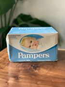 Vtg 30 Premature Infant Pampers 1974 Movie Prop Unopened Diapers Up To 6 Pounds