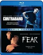 Contraband And Fear - Double Feature [blu-ray] Dvd, Mark Wahlberg, James Foley,bal
